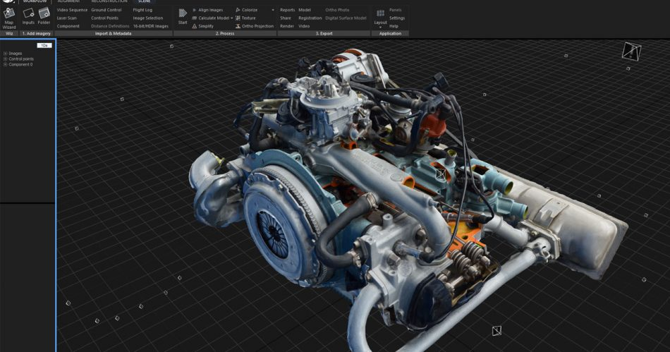 prototyping_car_engine_realitycapture